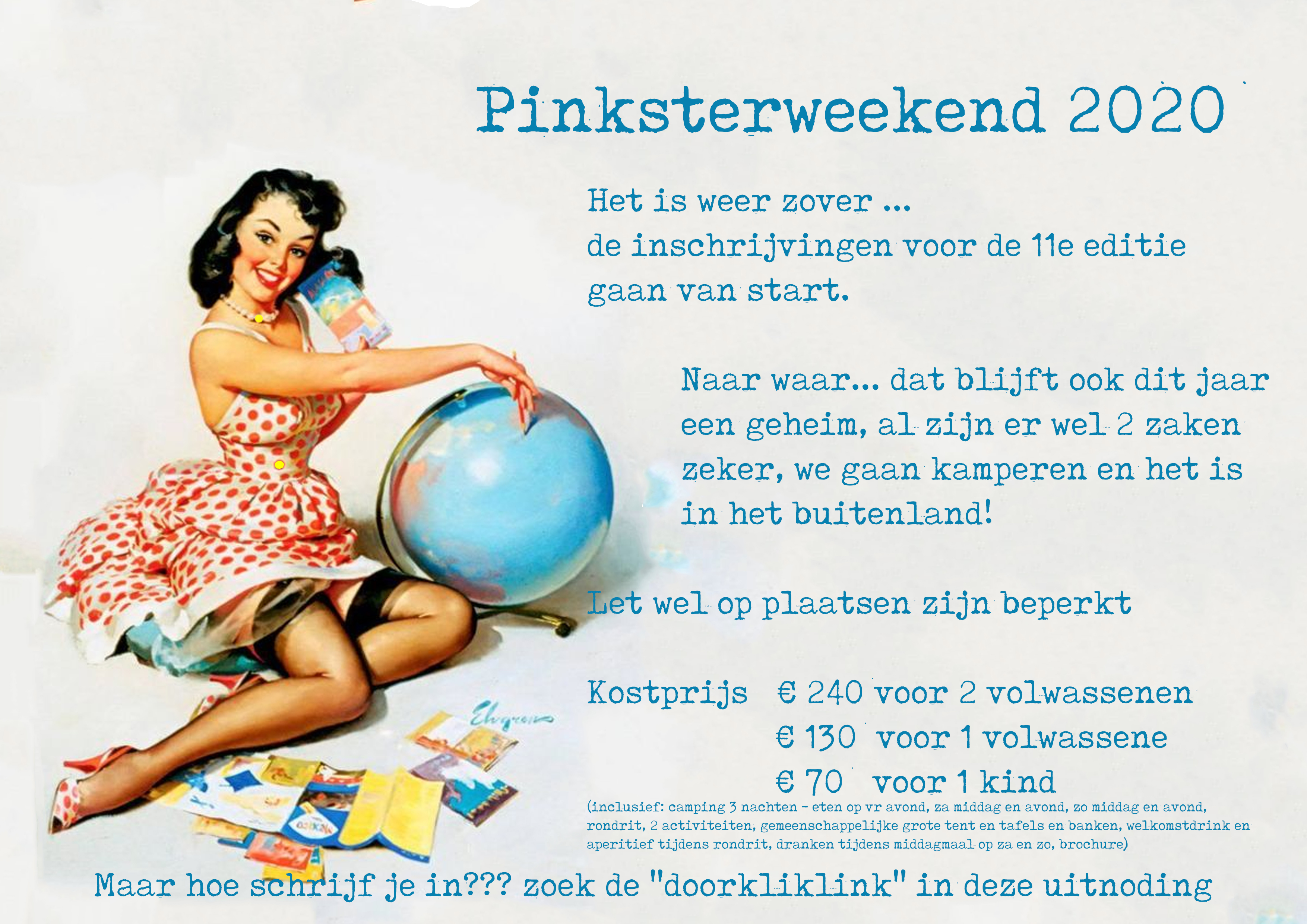 Pinksterweekend 2020